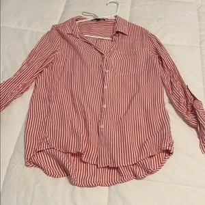 Stripes button down shirt